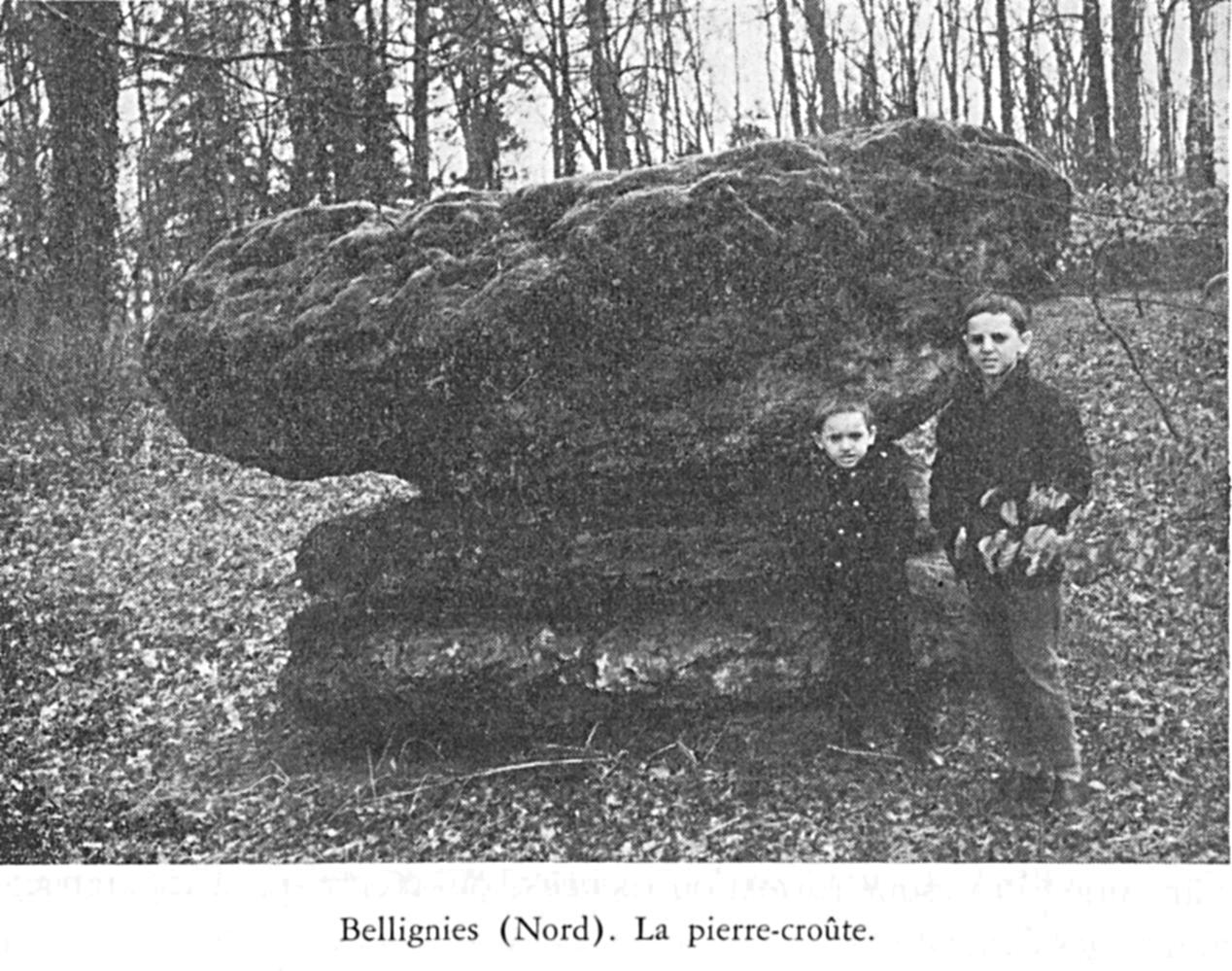 La pierre-croûte de Bellignies