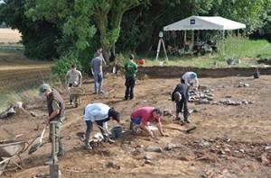 Sanctuaire gallo-romain de La Taille Marie: Campagne de fouilles 2013