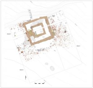 Fouilles sanctuaire gallo-romain Aiseau-Presles