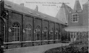 Ecole ND en 1914. Philippeville.