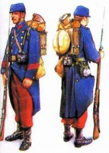 Soldats belges en 1914 Front de Charleroi.