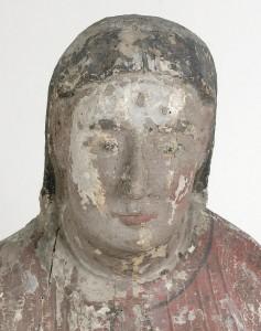 Vierge de Seron avant restauration