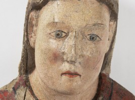 Vierge de Seron après restauration