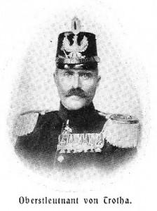 Lothar von Trotha en 1903