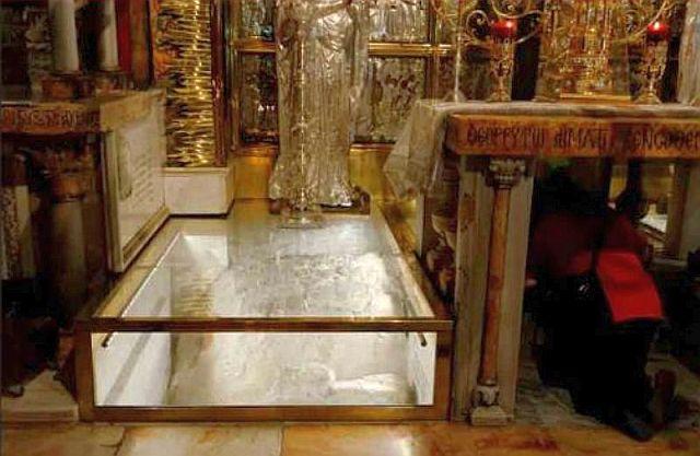 Le Golgotha au Saint-Sépulcre