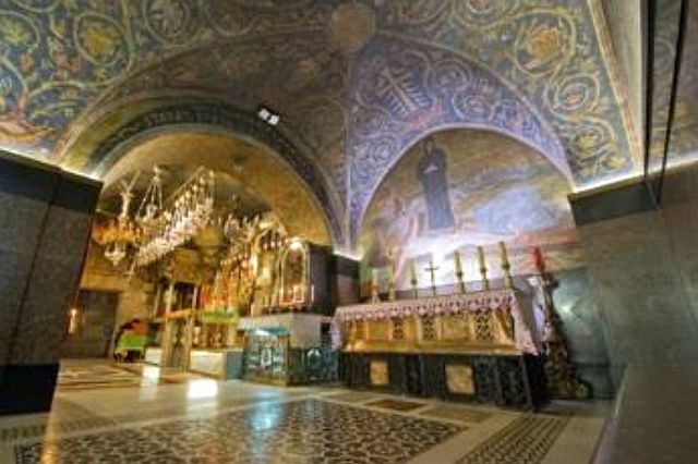Chapelle de la crucifixion