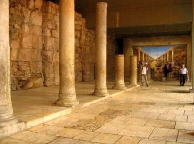 Cardo Maximus, sous la ville